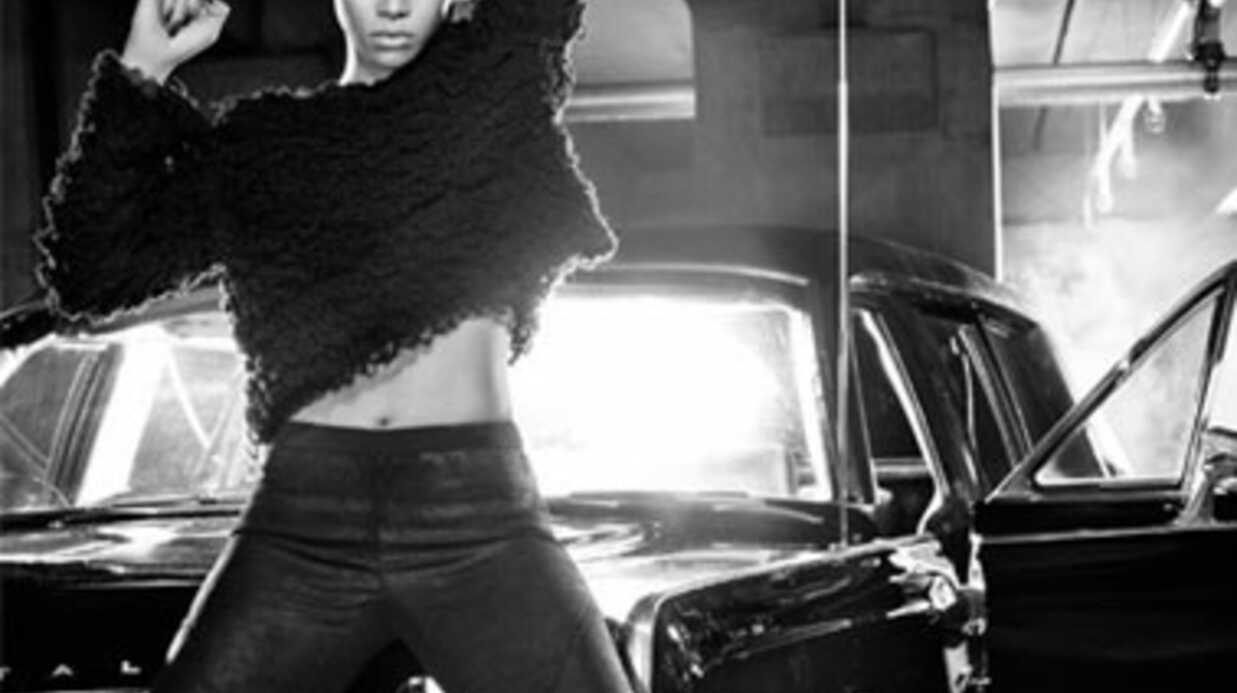 LOOK Rihanna pour Armani Jeans