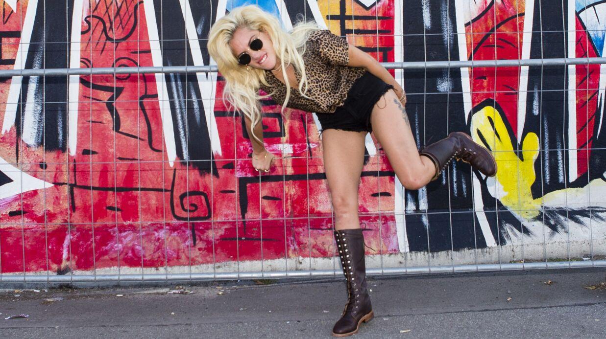PHOTOS Trahie par son décolleté, Lady Gaga en montre beaucoup trop