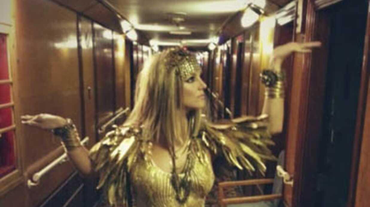 PHOTO Britney Spears en Cléopâtre pour la promotion de son parfum