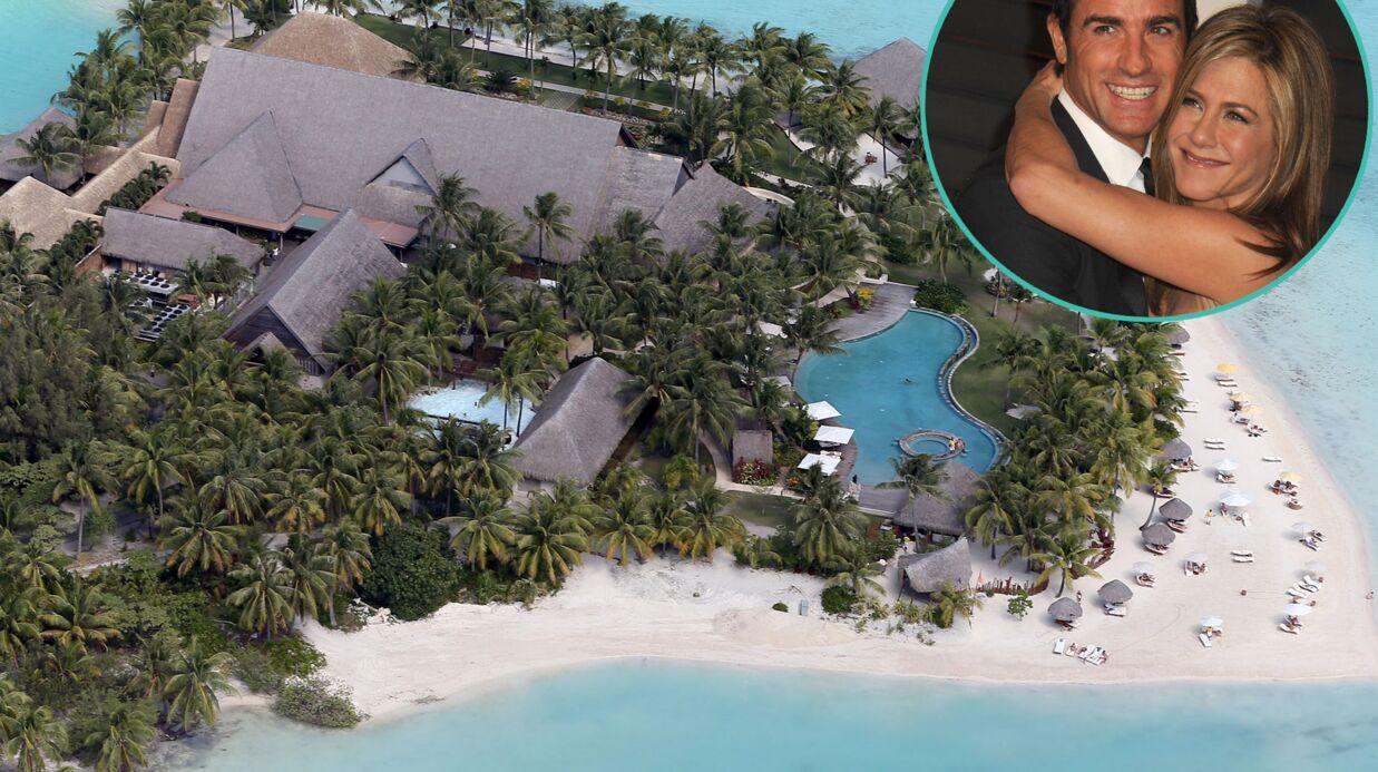 Jennifer Aniston – Justin Theroux: les photos du paradis où ils passent leur lune de miel