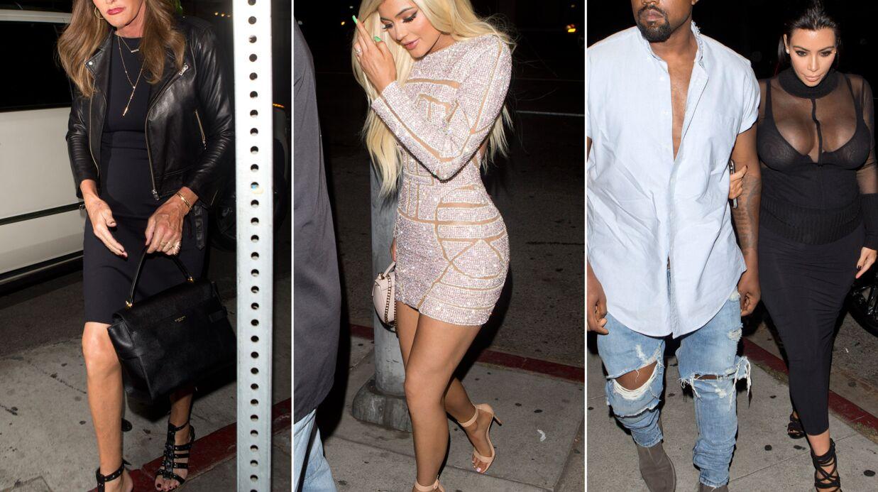 PHOTOS Les Kardashian de sortie pour les 18 ans de Kylie: un festival de looks