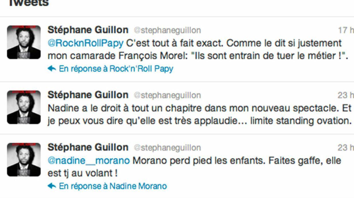 Stéphane Guillon et Nadine Morano: la guerre sans fin sur Twitter