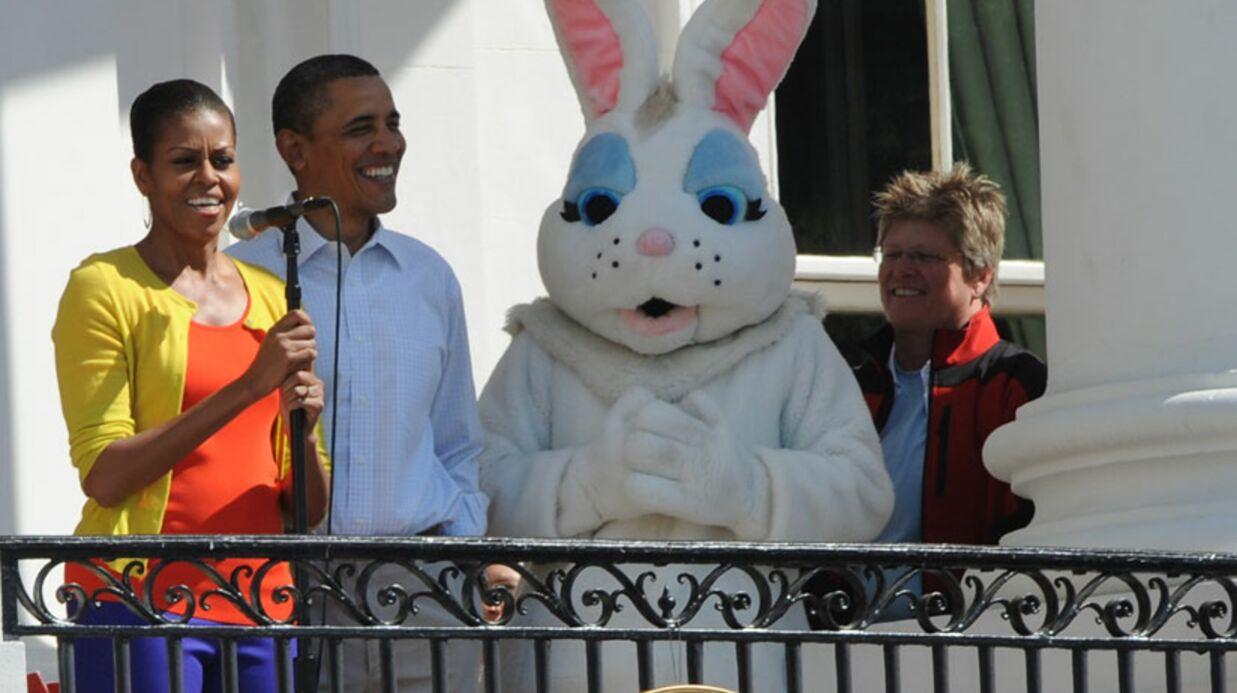 Photos barack obama f te p ques la maison blanche voici for Barack obama a la maison blanche