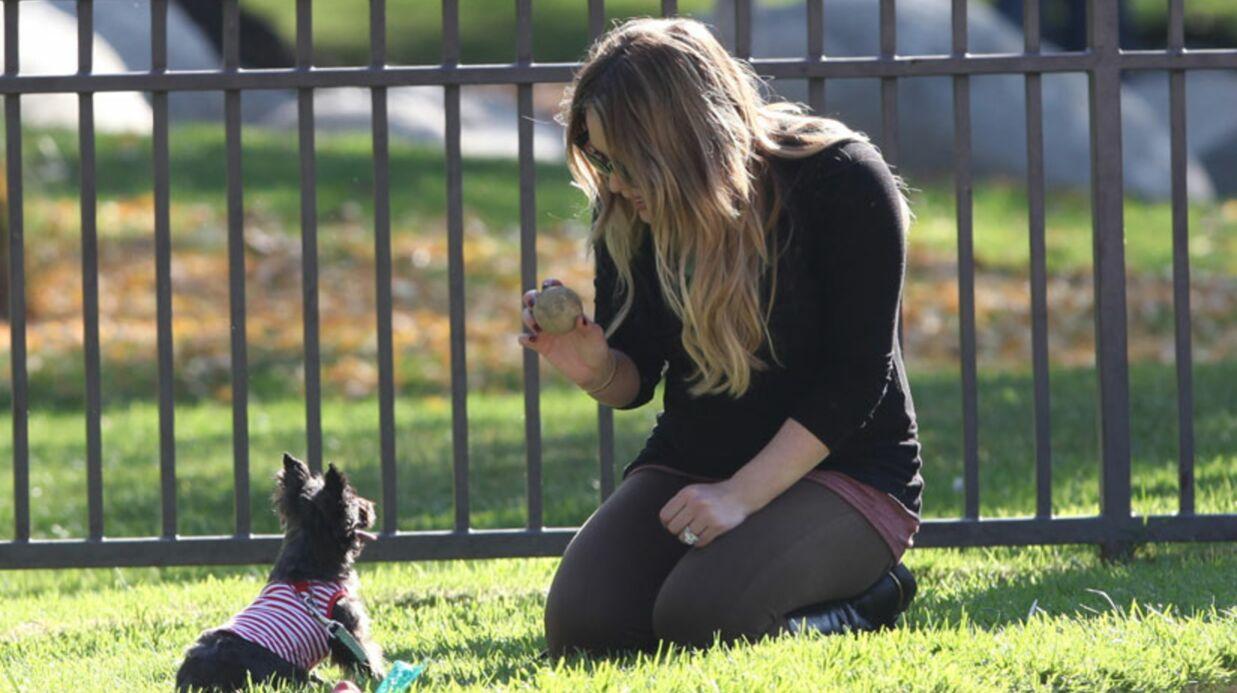 Hilary Duff prépare la chambre de son fils