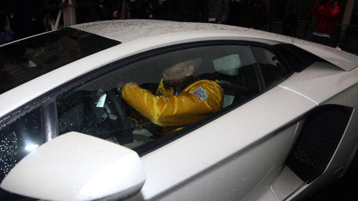 PHOTOS Chris Brown explose une Lamborghini après une soirée avec Nabilla