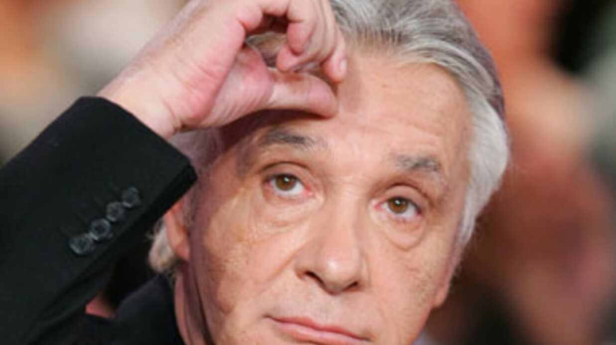 Michel Sardou ne veut plus entendre parler de politique