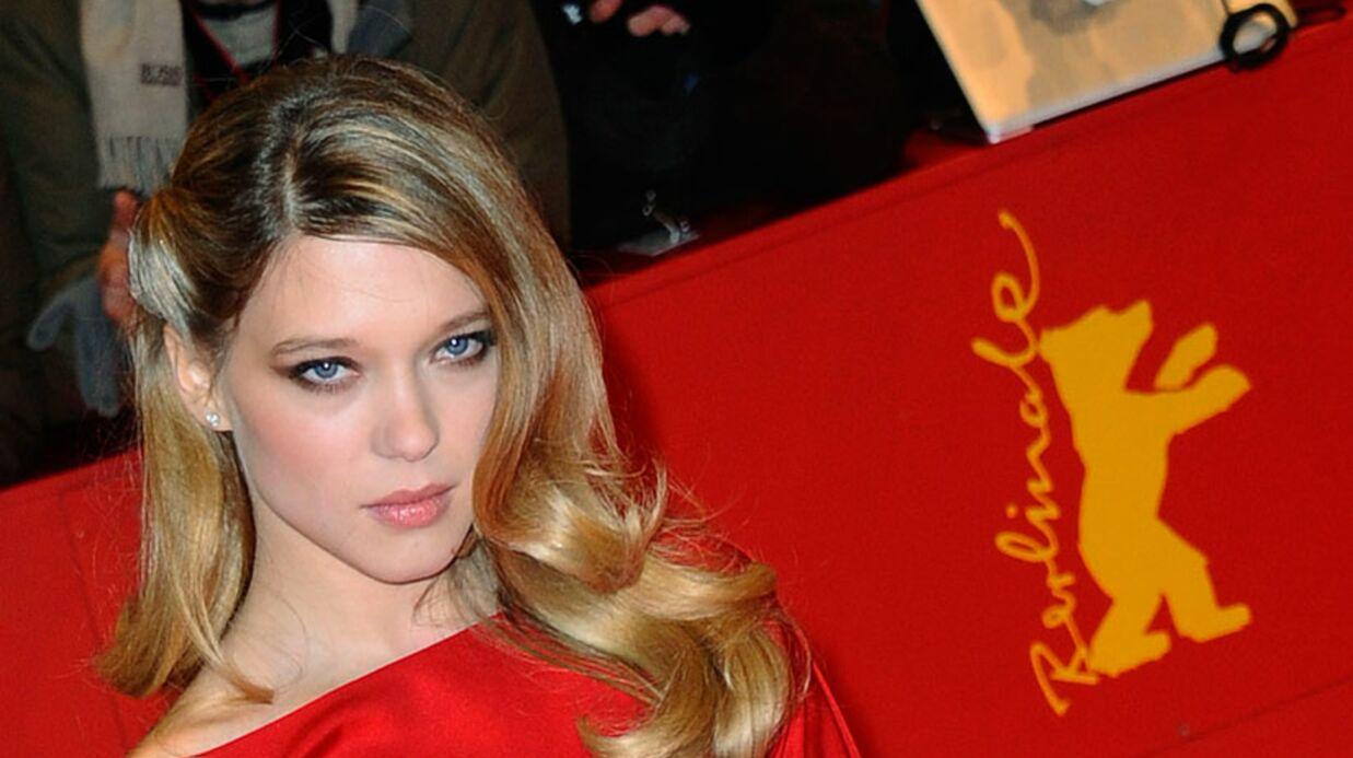 LOOK Léa Seydoux: le rouge lui va si bien