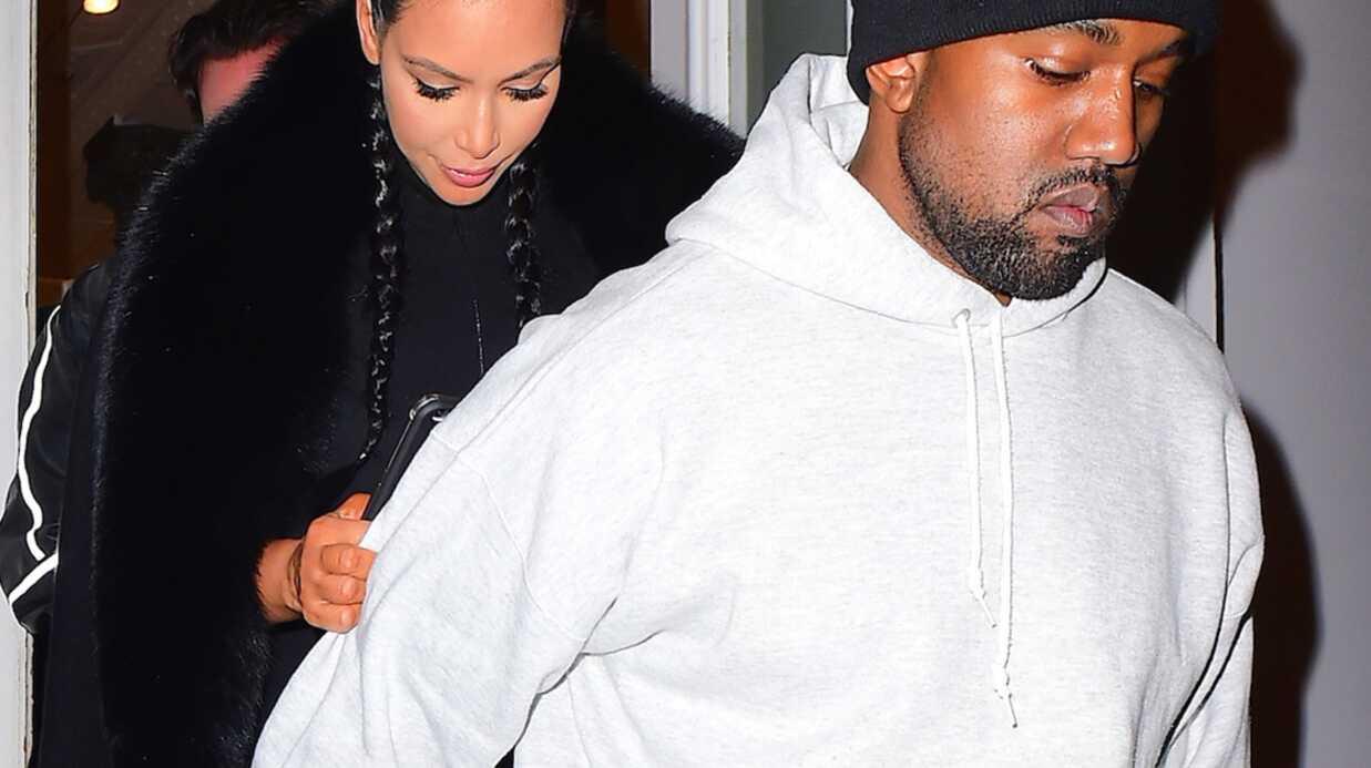 PHOTOS Kim Kardashian: sa première sortie publique depuis la naissance de Saint