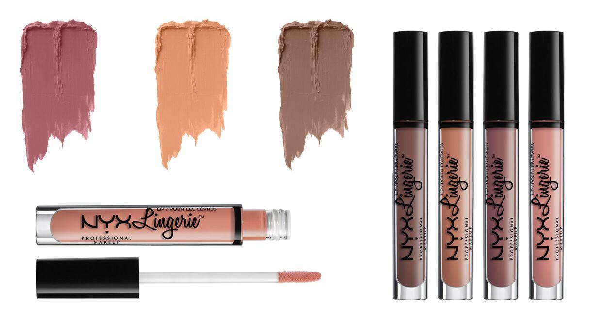 Rouge à lèvres: NYX sort 12 nouvelles teintes de Lip Lingerie