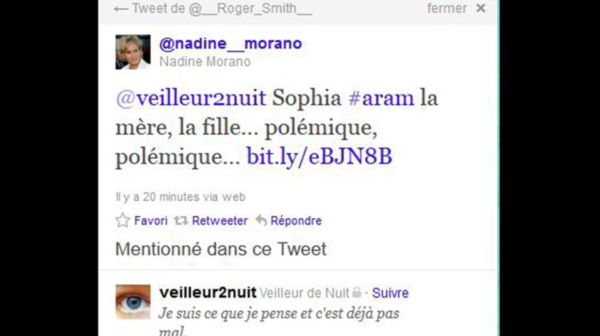 Nadine Morano s'attaque à la maman de Sophia Aram