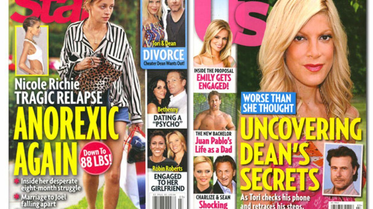 En direct des US: Nicole Richie est à nouveau anorexique