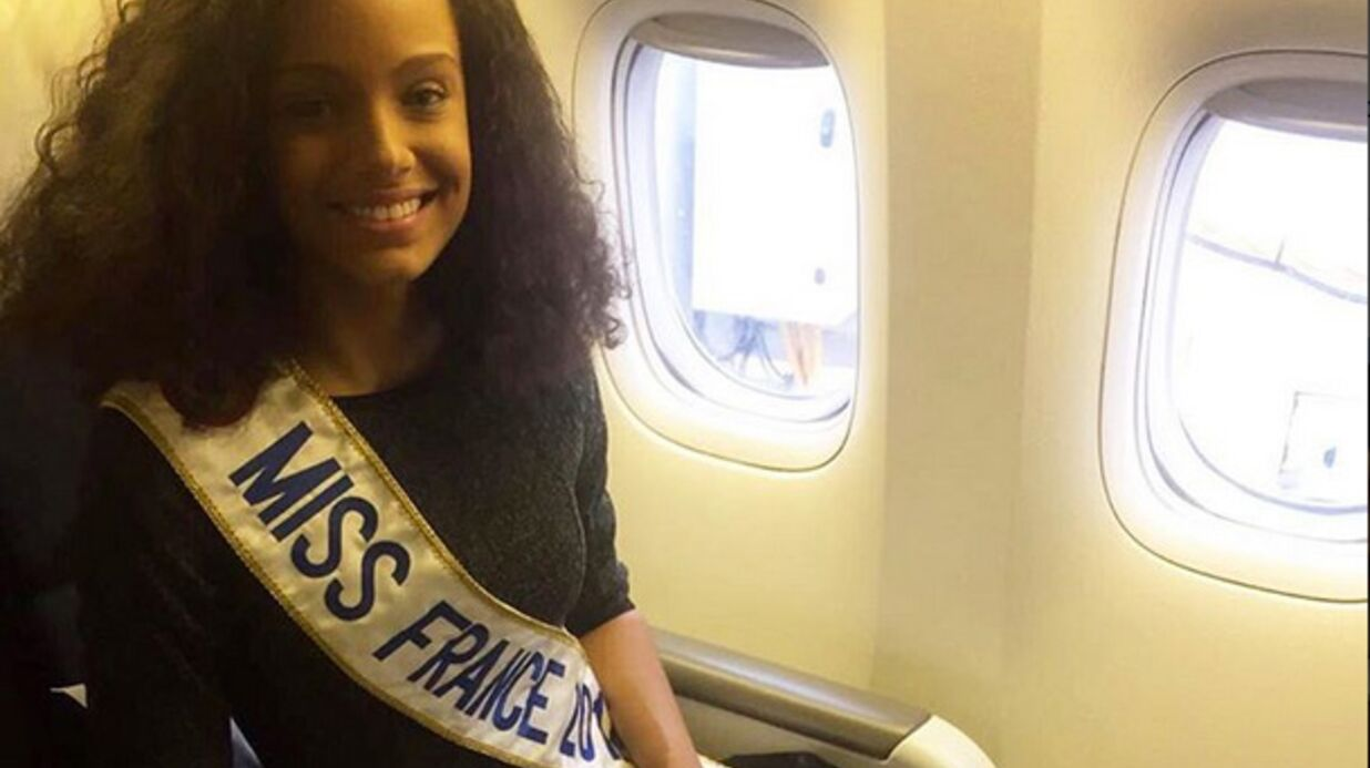 PHOTOS Retour triom­phal en Guyane pour Alicia Aylies, Miss France 2017