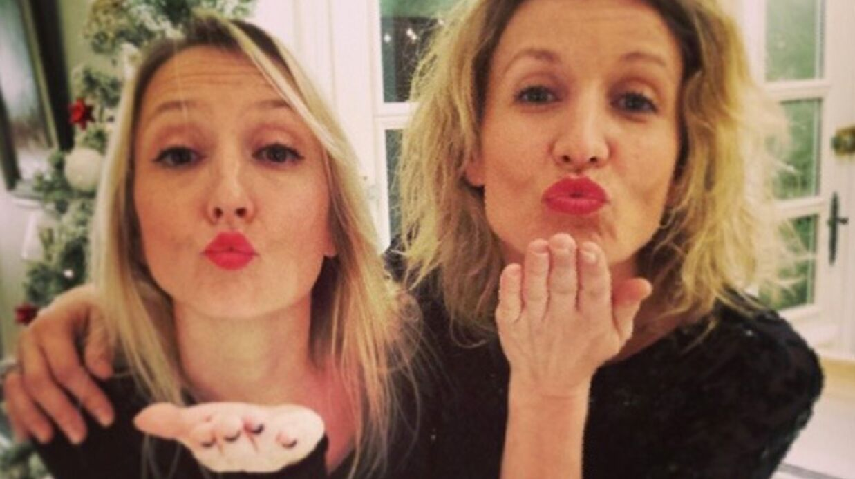 Audrey Lamy partage une photo d'elle avec sa sœur Alexandra quand elles étaient adolescentes