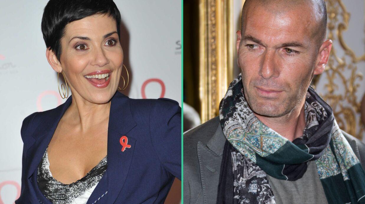 Cristina Cordula dément avoir une liaison avec… Zinédine Zidane