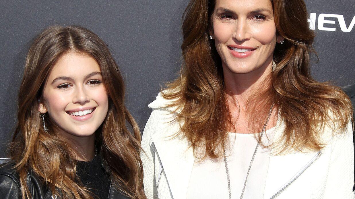 PHOTOS À seulement 13 ans, Kaia Gerber, la fille de Cindy Crawford, pose pour Vogue