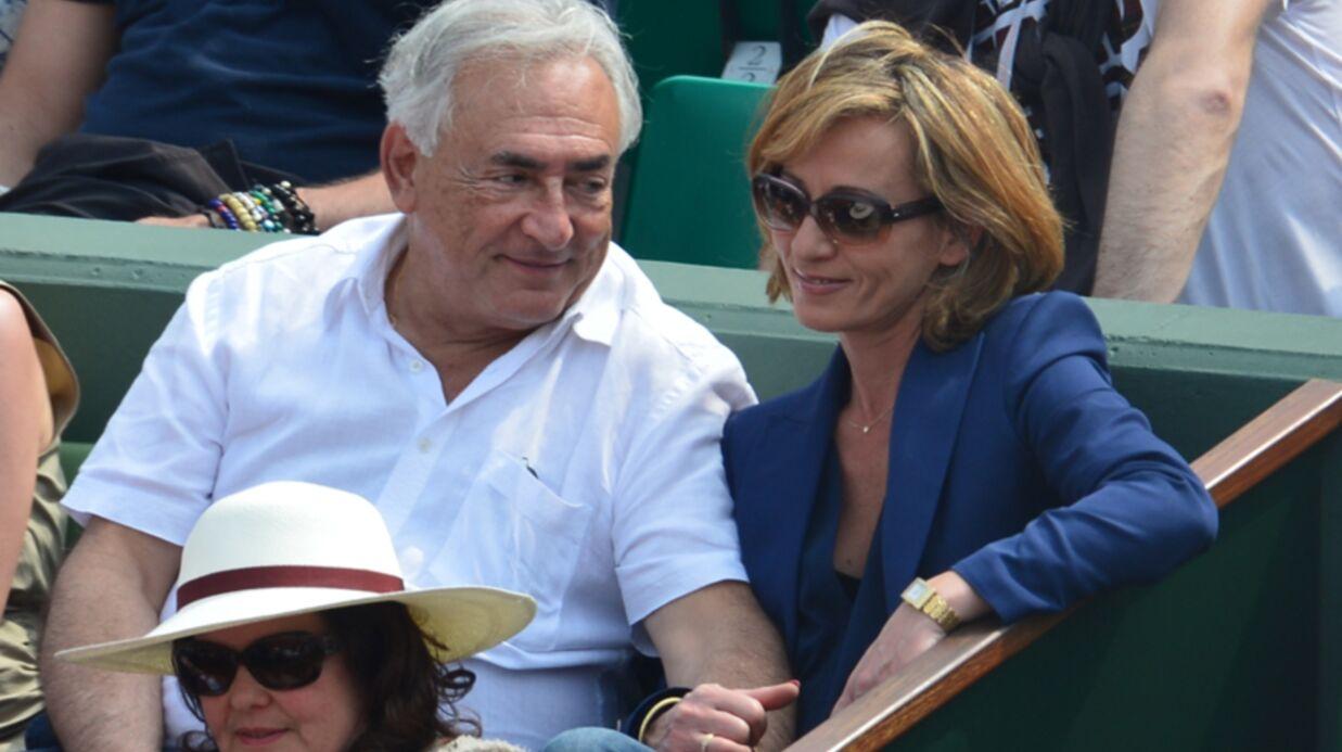 DIAPO Dominique Strauss-Kahn et Myriam L'Aouffir complices à Roland-Garros