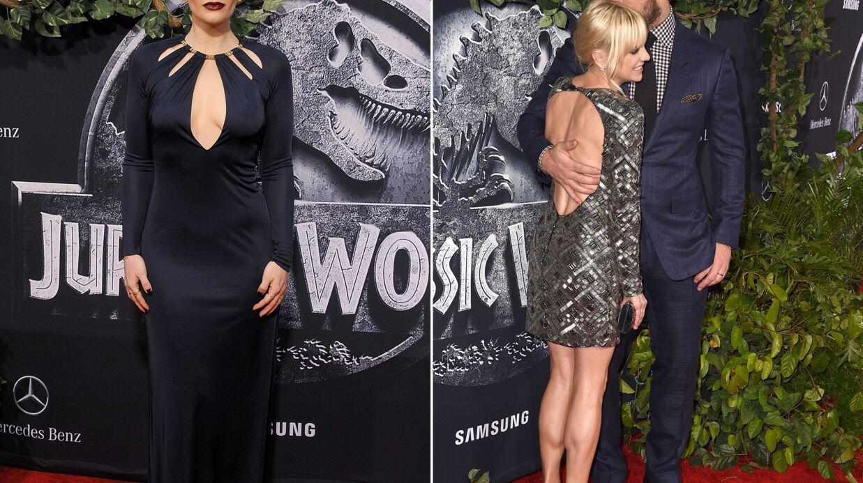 PHOTOS Bryce Dallas Howard sensuelle, Chris Pratt et Anna Faris amoureux pour Jurassic World