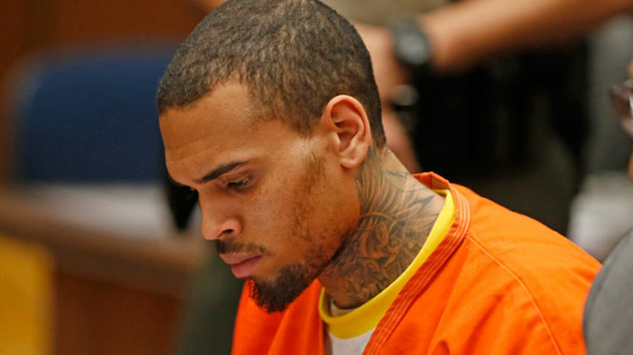 Un an de prison ferme pour Chris Brown !
