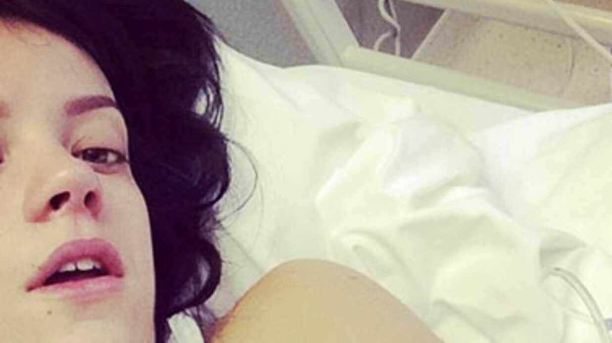 Lily Allen, hospitalisée à Londres, ne viendra pas ce soir sur le plateau de The Voice