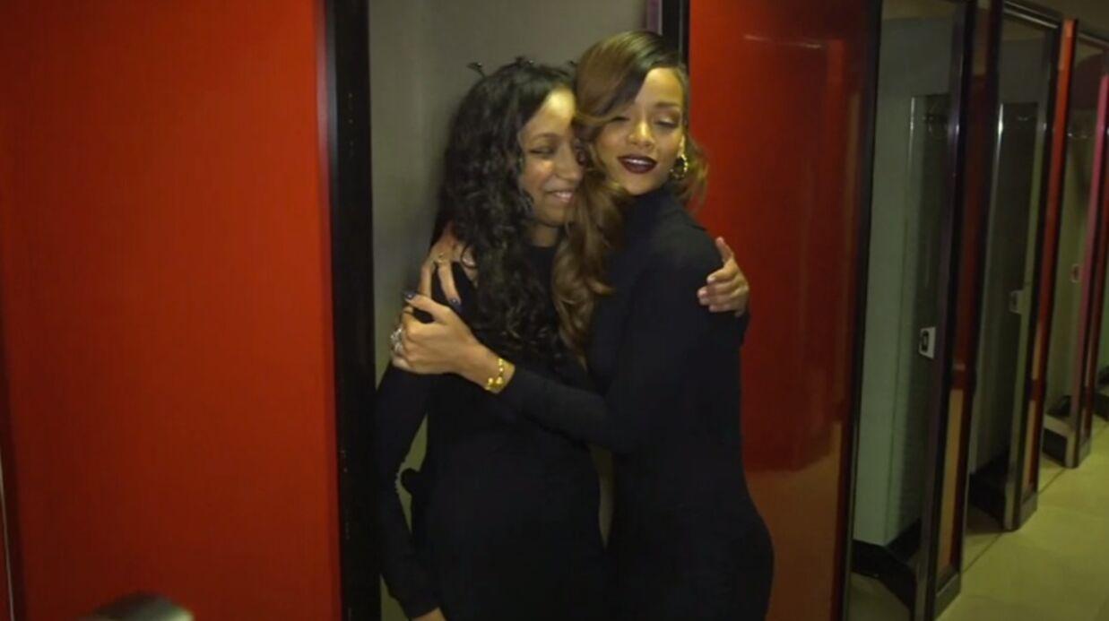 VIDEO Le cadeau de Rihanna à une de ses fans