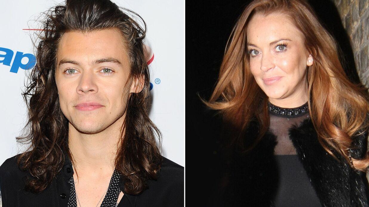 Le jour où Lindsay Lohan a mis un râteau à Harry Styles