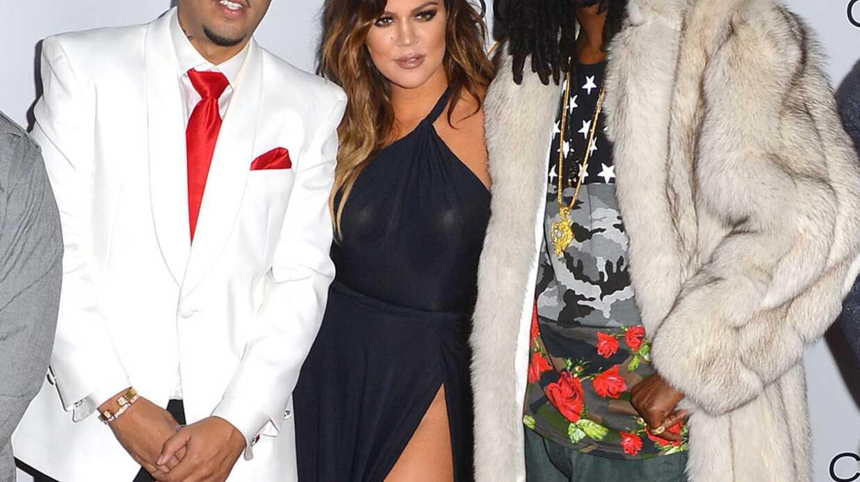 PHOTOS Khloé Kardashian montre presque tout à la soirée de French Montana