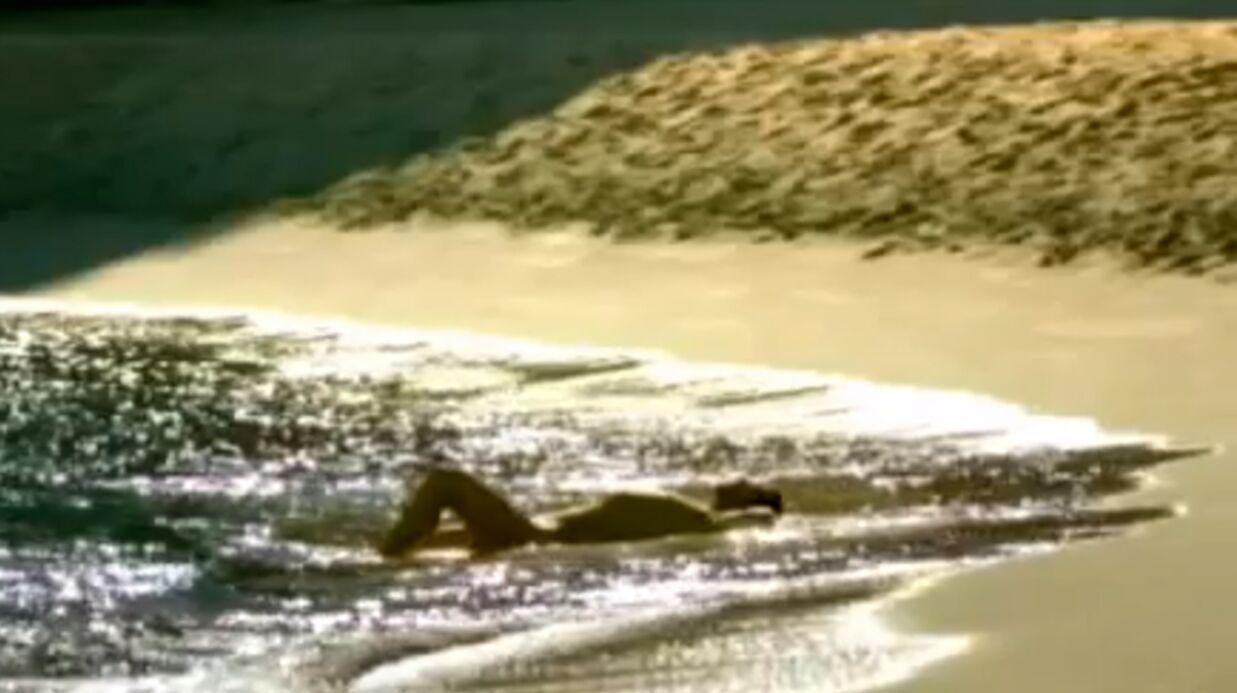 VIDEO Un candidat de Koh-Lanta nu dans des publicités