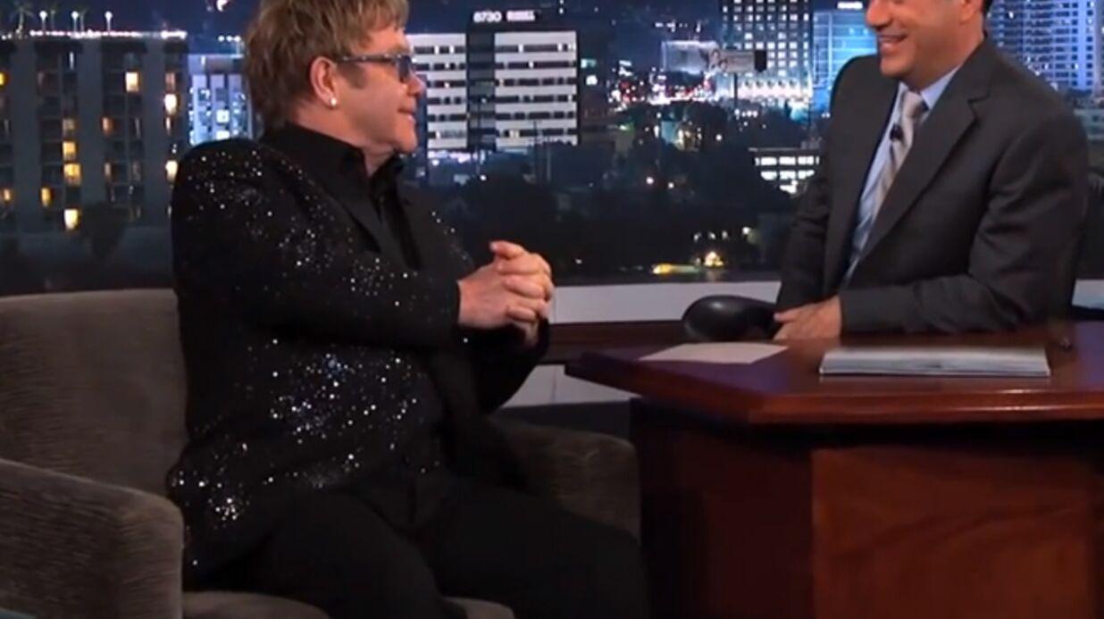 Elton John va se marier avec David Furnish en mai 2014