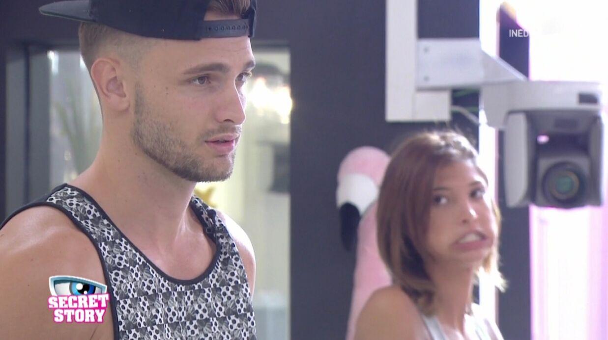 Secret Story 10: Bastien et Mélanie cassent Thomas toute la journée