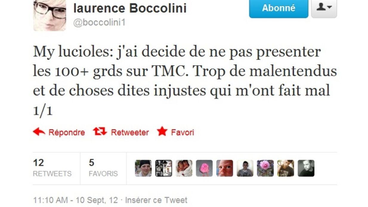 Laurence Boccolini ne présentera pas Les 100 plus grands sur TMC