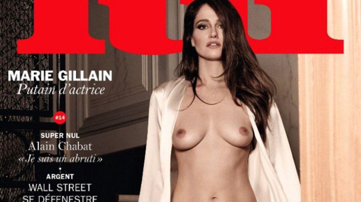 Marie Gillain explique pourquoi elle a posé nue pour Lui