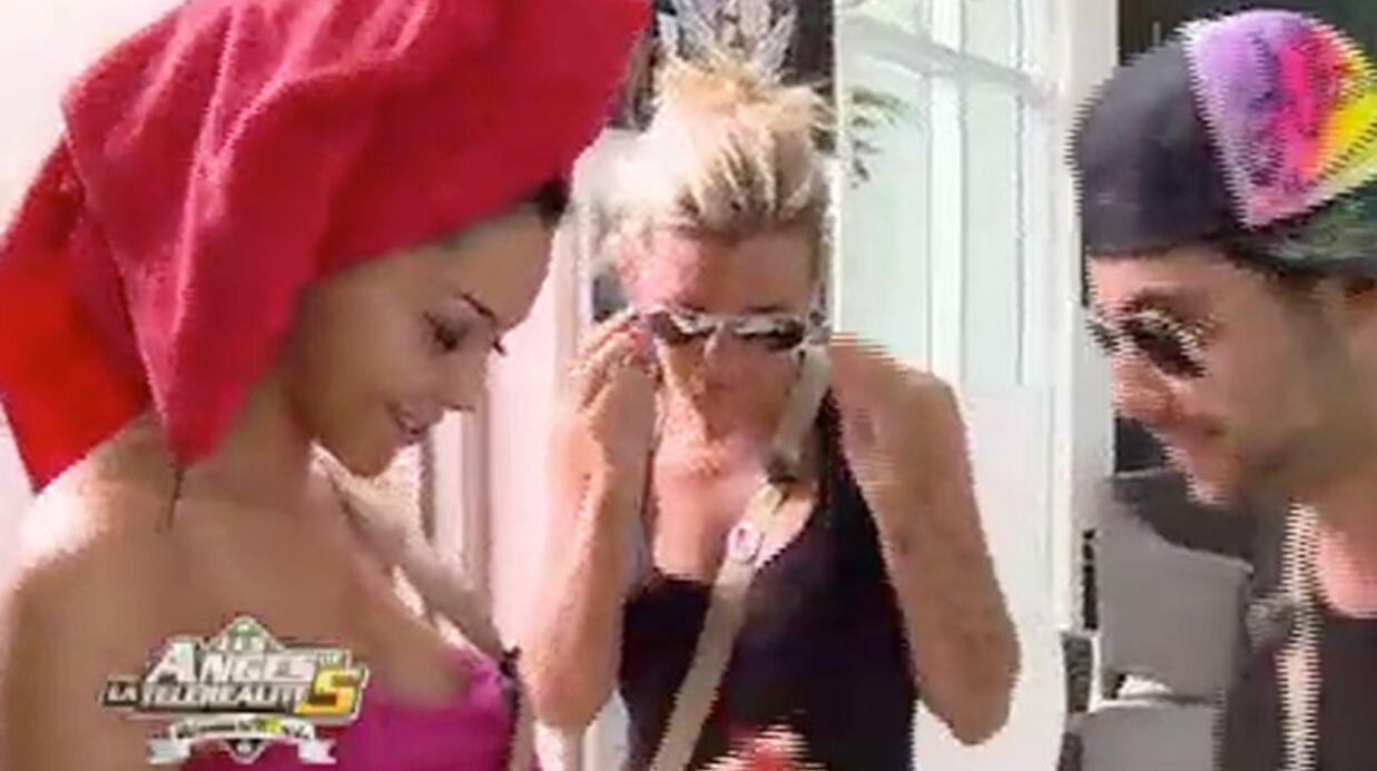 Les Anges de la téléréalité 5: c'est pas la joie entre Samir et Vanessa