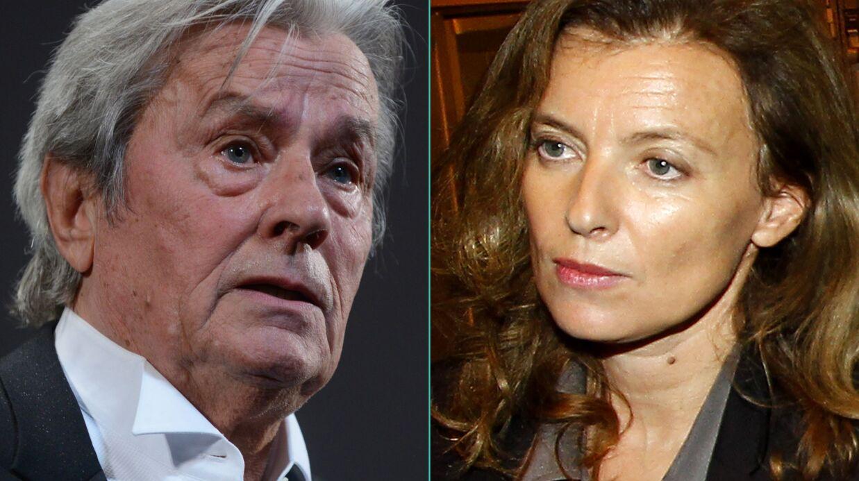 Alain Delon: Valérie Trierweiler «a vraiment morflé»