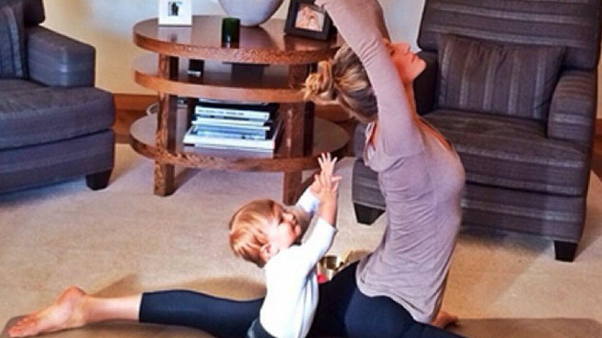 PHOTO Gisele Bündchen allaite sa fille d'un an