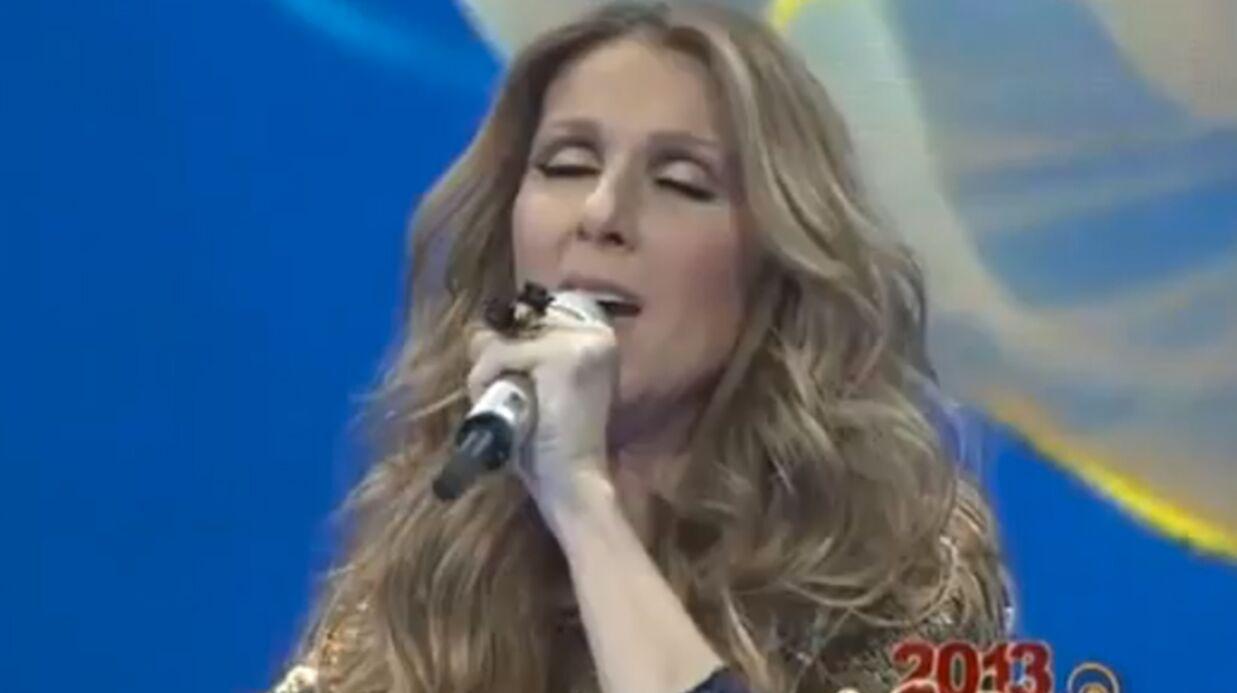 VIDEO Céline Dion chante en mandarin pour le nouvel an chinois