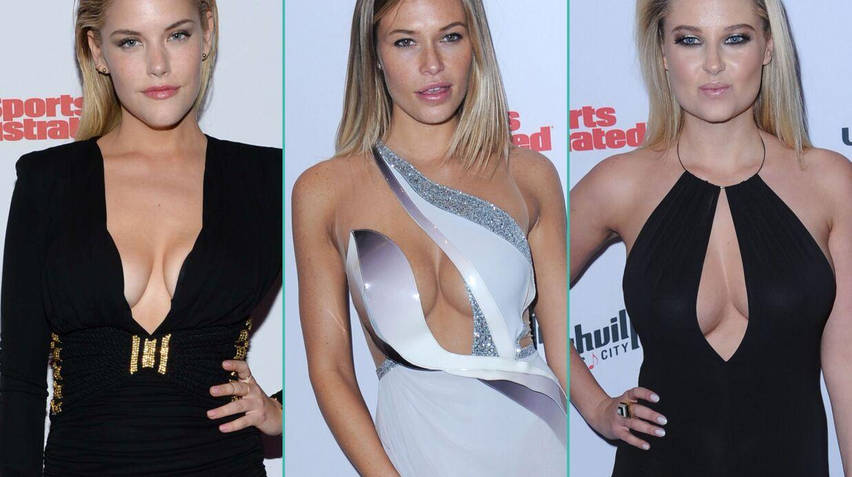 PHOTOS Les mannequins de Sports Illustrated ultra sexy et très décolletés en soirée