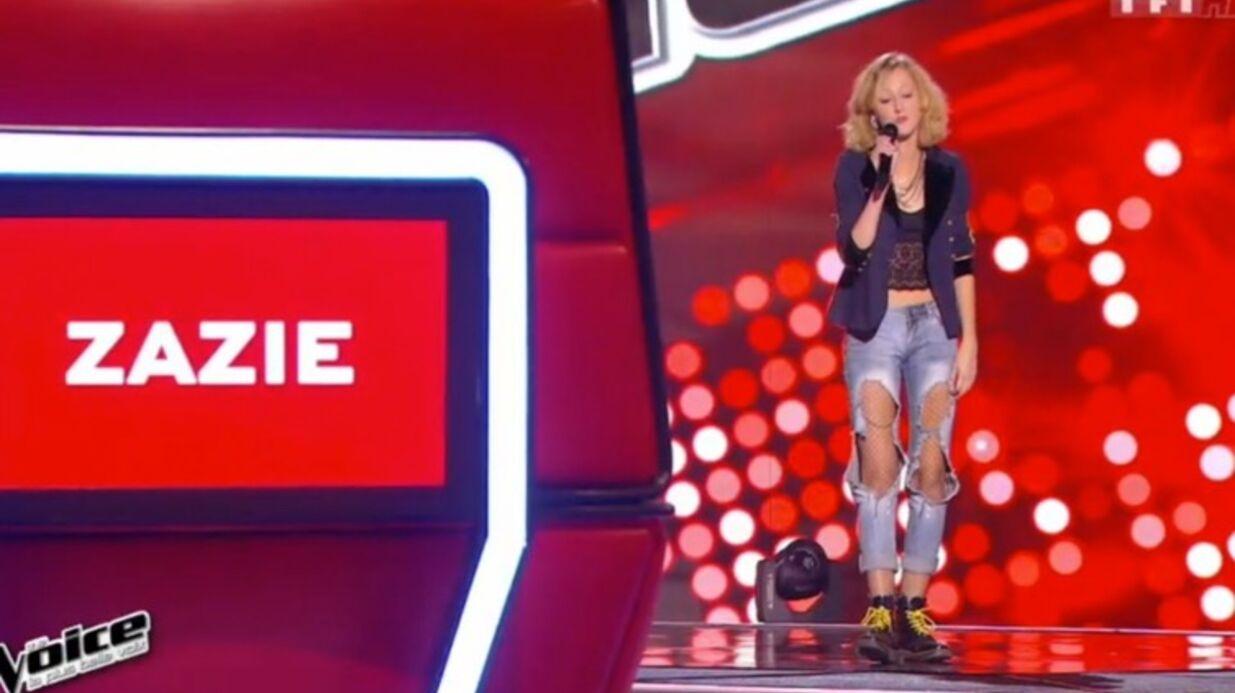 The Voice: Zazie en a fait des caisses pour sa première