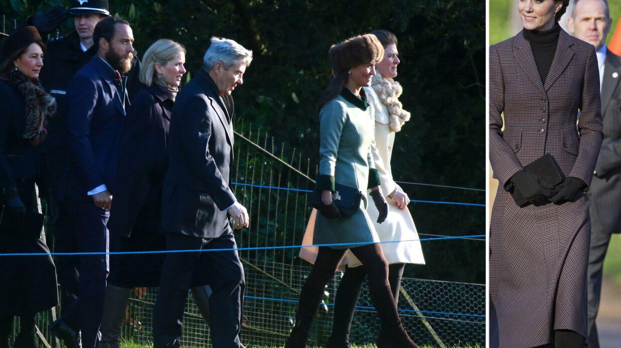 PHOTOS Toute la famille Middleton réunie derrière Kate et William pour une commémoration