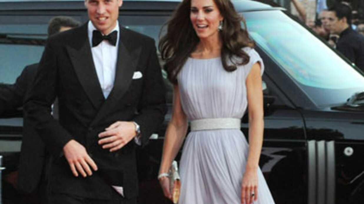 DIAPO Kate et William aux Bafta Brits to watch