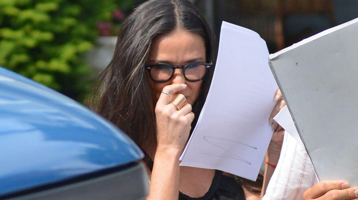 PHOTOS Demi Moore: premier boulot depuis son divorce