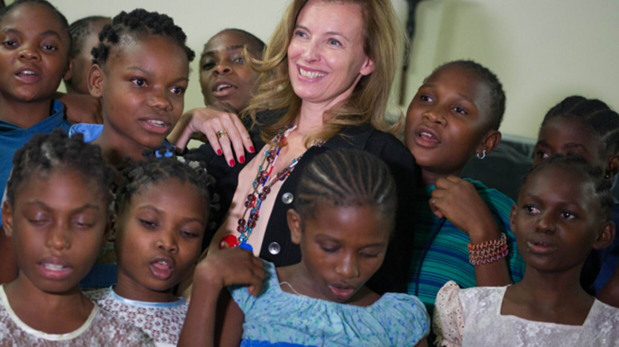 DIAPO Valérie Trierweiler défend la cause des femmes en Afrique