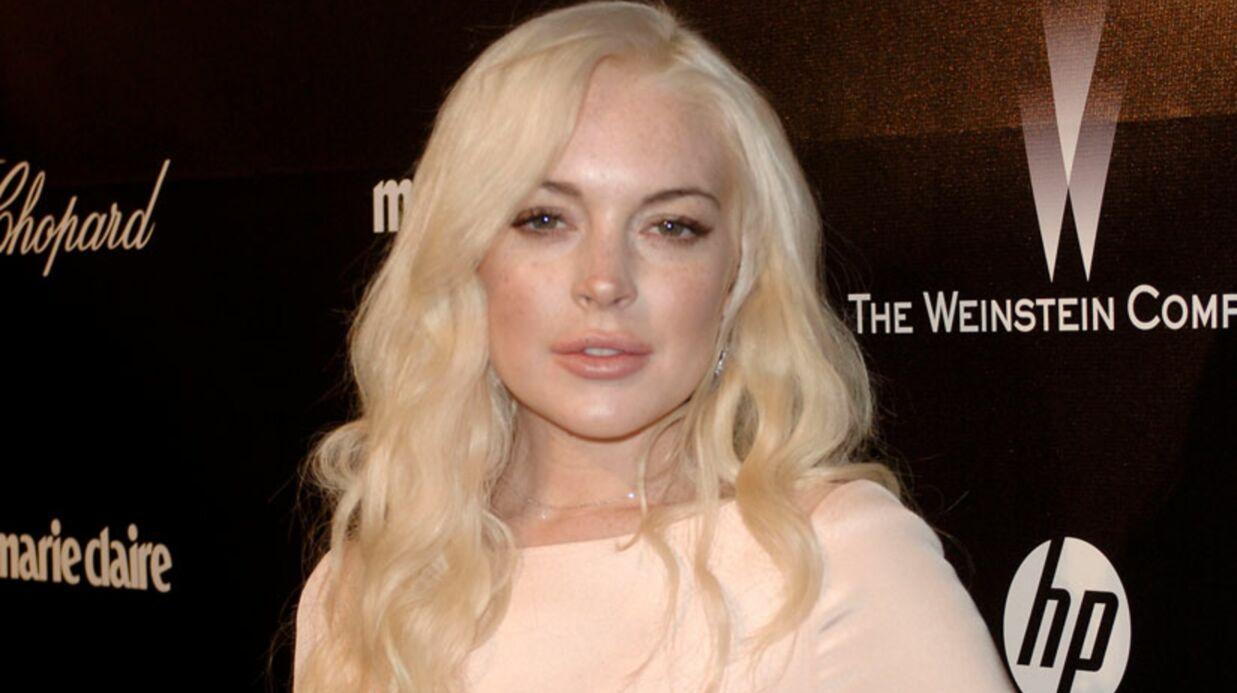 Lindsay Lohan a tenté de cacher un sac lors de son accident