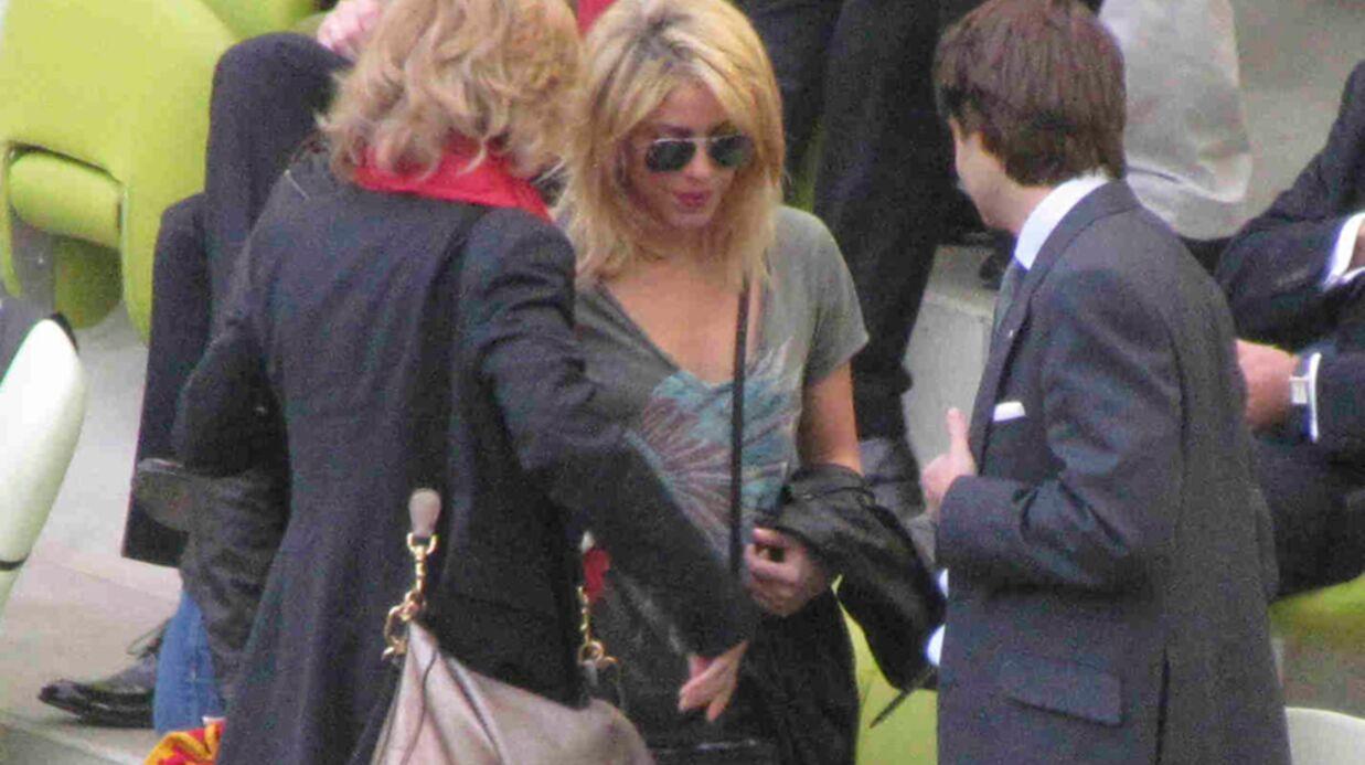 PHOTOS Shakira première supportrice de Gerard Piqué