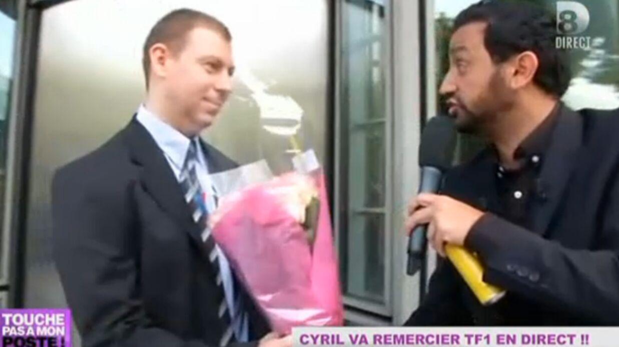 VIDEO Cyril Hanouna essaie d'entrer à TF1 en plein direct
