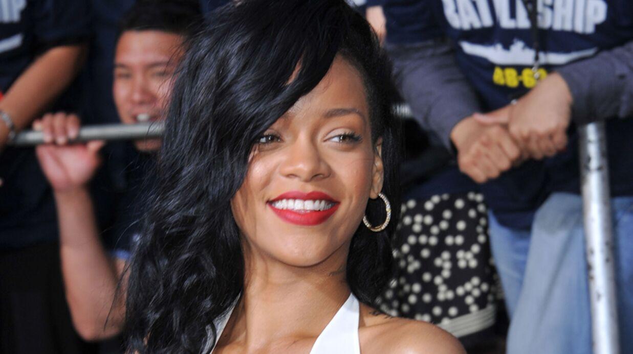 LOOK Rihanna provocante à l'avant-première de Battleship