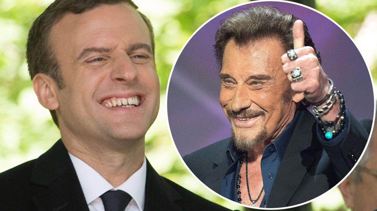 Pour se concentrer avant ses meetings, Emmanuel Macron chante à tue-tête un tube de Johnny Hallyday