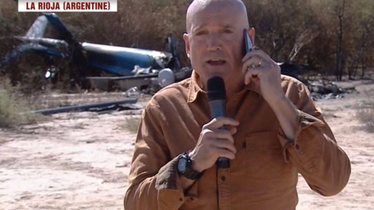 Louis Bodin (Dropped): son interview devant la carcasse d'un hélico choque les téléspectateurs