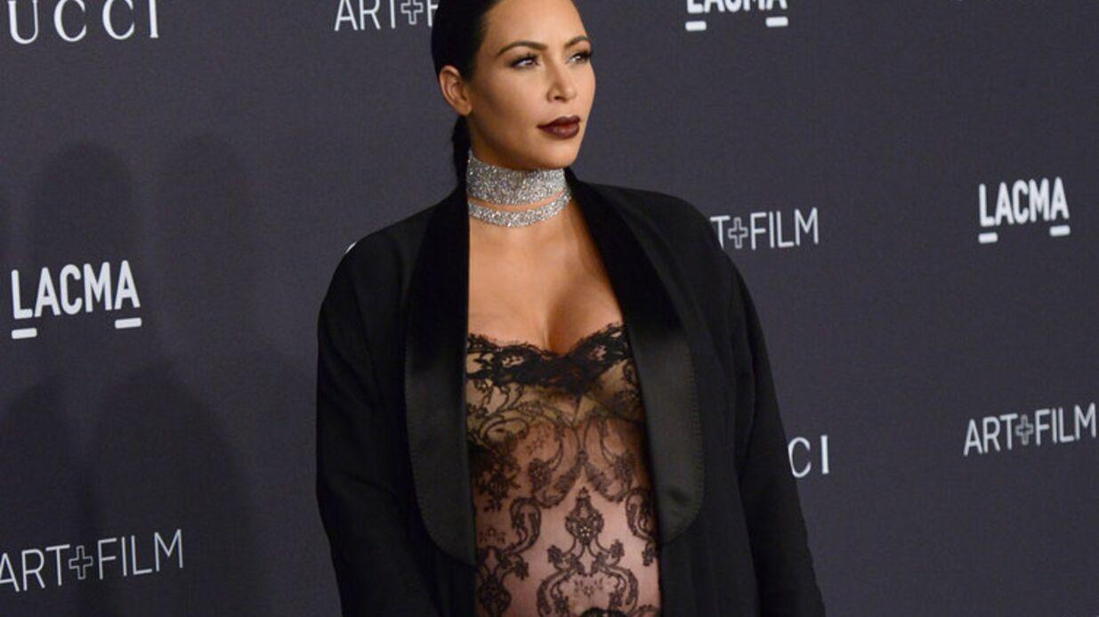 Kim Kardashian révèle sa prise de poids à 7 mois de grossesse