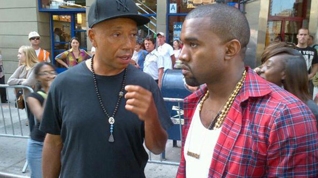 Kanye West rend visite aux manifestants de Wall Street