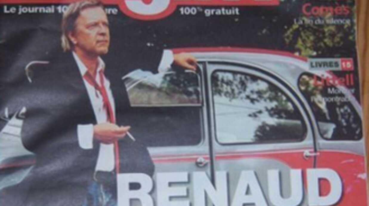 Renaud s'est fait voler sa 2CV